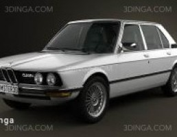 ماشین BMW مدل E12 سال 1978