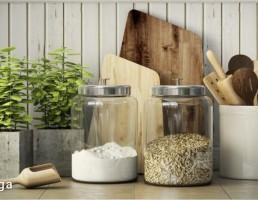 مجموعه وسایل آشپزخانه