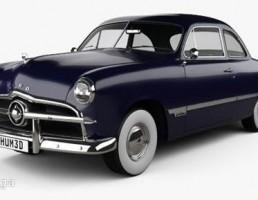 ماشین فورد مدل  Club Coupe سال 1949