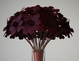 گلدان گل زینتی