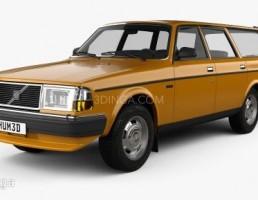 ماشین ولوو 245 سال 1984