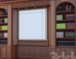 کتاب خانه (قفسه کتاب )