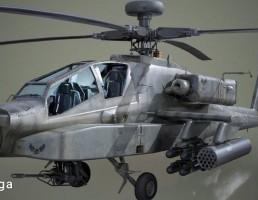 هلی کوپتر AH-64D