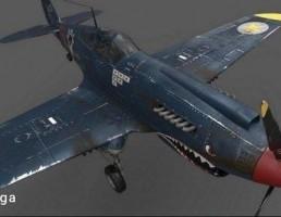 هواپیمای جنگنده P40