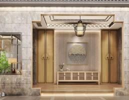 صحنه داخلی اتاق چینی