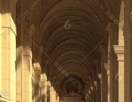 صحنه داخلی راهرو کلاسیک