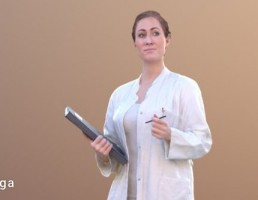 کاراکتر زن پرستار