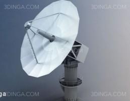 مدل سه بعدی ماهواره نظامی