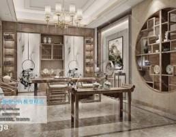 اتاق پذیرایی چینی