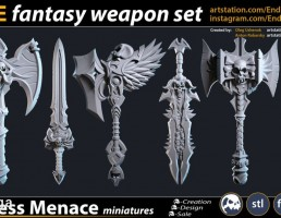 مجموعه سلاح های فانتزی