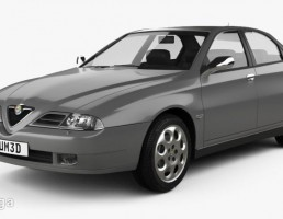 ماشین آلفا رومئو 166 سال 1998