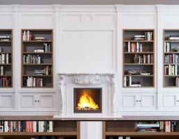 قفسه کتاب (کتابخانه) کلاسیک
