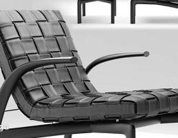 صندلی راحتی Minotti + جلوپایی