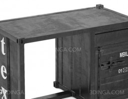 میز کانتینر دریایی