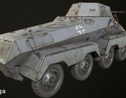 تانک مدل  Sd Kfz 231