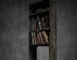کتابخانه قدیمی و فانتزی