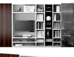 مدل قفسه کتابخانه