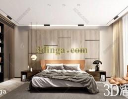 صحنه داخلی اتاق خواب کودک مدرن