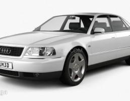 ماشین آئودی a8 سال 1999