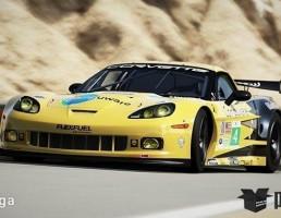 ماشین شورلت مدل Corvette C6.R سال 2006