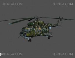 هلیکوپتر نظامی SGW3 MI-17
