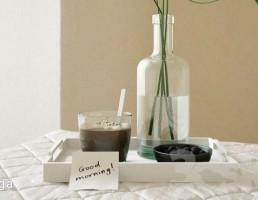 قهوه + شاتوت + گلدان