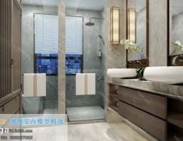 حمام سبک چینی