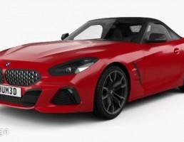 ماشین بی ام وی مدل Z4 سال 2019