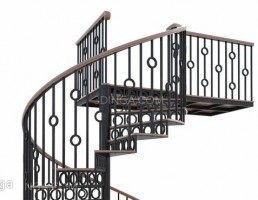 راه پله مارپیچ کلاسیک