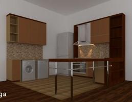 آشپزخانه برای خانه های کوچک