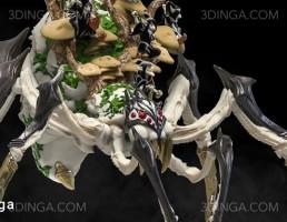 کاراکتر کارتونی اژدها برای چاپ سه بعدی