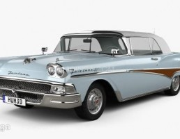 ماشین فورد Fairlane سال 1958