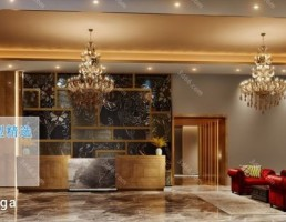لابی هتل سبک آمریکایی
