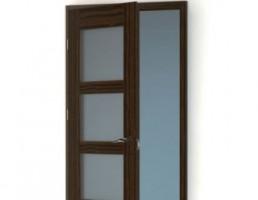 درب داخلی شیشه خور