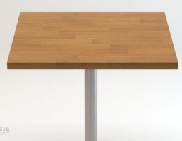 میز مدرن با پایه فلزی