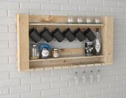 باکس چوبی آشپزخانه