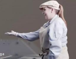 کاراکتر زن کارگر