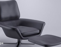 صندلی راحتی + جلوپایی