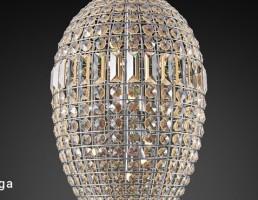 چراغ سقفی به شکل تخم مرغ