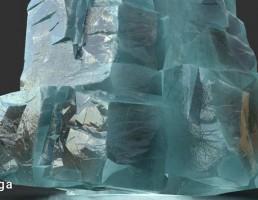 بلوک های یخ