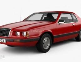 ماشین فورد مدل Thunderbird سال 1983