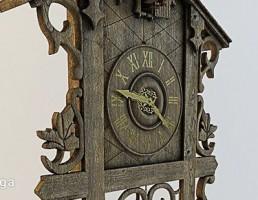 ساعت چوبی کلاسیک