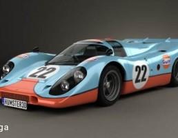 ماشین مسابقه Porsche 917 K 1969