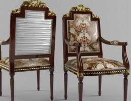 صندلی 3D کلاسیک