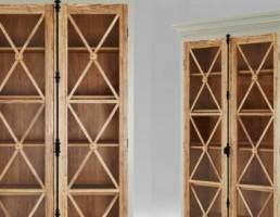 مدل قفسه چوبی