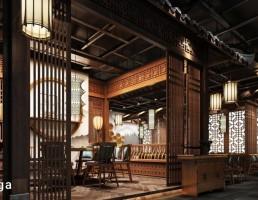 صحنه داخلی رستوران