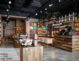 کافه سبک صنعتی