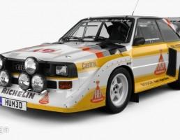 آئودی مدل  Quattro Sport S1 E2  سال 1985