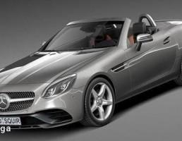 ماشین مرسدس بنز مدل SLC  سال 2017