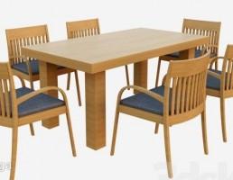 ست میز + صندلی ناهارخوری